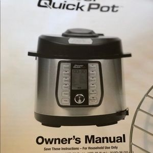 Power Quick Pot 37-in-1 program pressure cooker.